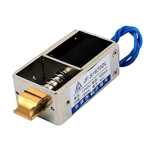 Aexit DC 12V 400mA 10mm 40N Pull Open Frame Elektromagnet für Türschloss (04d4c864405a05a7cf2a7801058d466c)