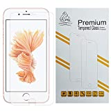 iPhone 6S Tempered Glass Premium Screen Protector by Gorilla Tech ® Shield Crystal Clear HD Quality for Apple iPhone 6S 4.7', [Importado de UK]