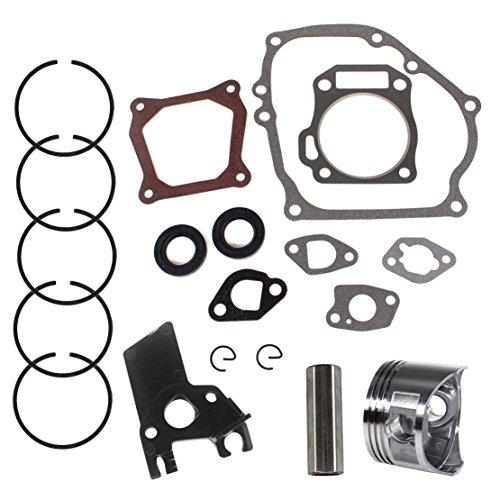USPEEDA Repair Rebuild Kit for Honda GX160 GX200 5.5HP 6.5HP Piston Cylinder Gasket