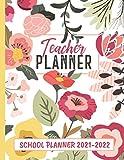 Teacher Planner School Planner 2021-2022: Teacher Calendar 2021, Lesson Planner for Teachers, School Planner 2021-2022 College