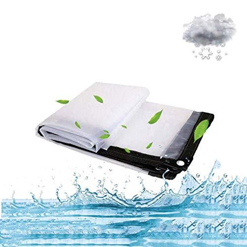 QI-CHE-YI Sonnenschutz Regenbekleidung Hühnerstall Leinwand im Freien Persenning Sonnenschutz Wasserdicht LKW Regenschutz-Tuches,3x8m