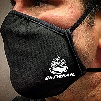 Setwear Reusable 3-Layer Fabric Face Mask with Filtration