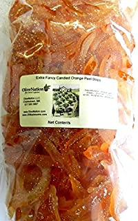 OliveNation Candied Orange Peel Slices 1 lb (16 oz.)