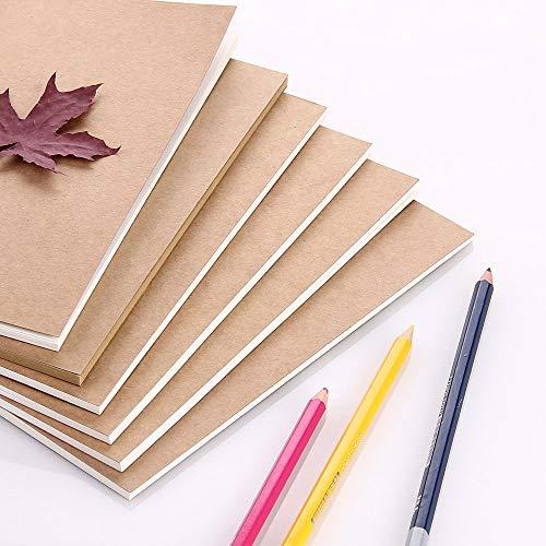 Papier Reiziger Notebook Filler Papier/Tijdschrift invoert Refill Paper Kraft Papier 1 st Pocket Size 13x10cm Gelijnd papier