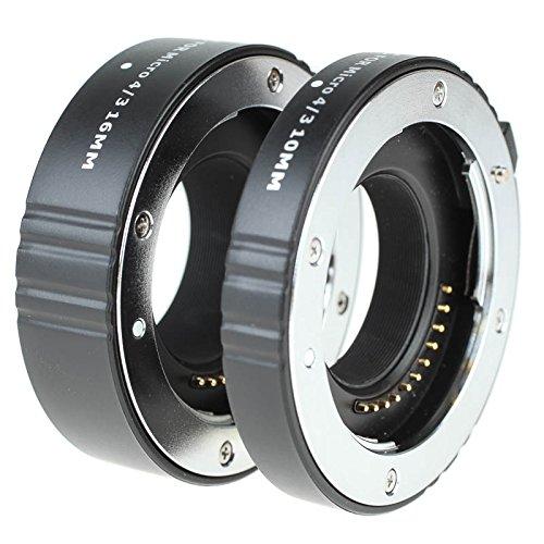 JJC AET-M43S Autofokus-Zwischenringe (AF) für Olympus/Panasonic Micro Four Thirds MFT