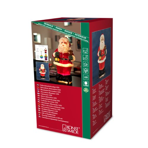 Konstsmide 4310-550 Fibre Optique LED Père-Noël 12 V