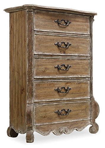 Review Of Hooker Furniture Chatelet 5 Drawer Chest in Caramel Froth