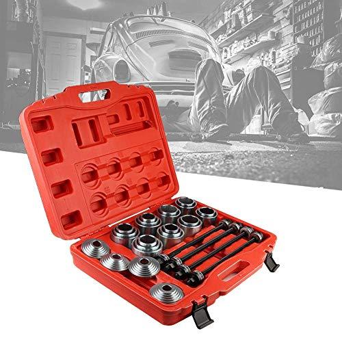 WLGQ Kit de Manguito de presión y tracción, 36 Piezas de Herramientas de inserción de extracción de cojinetes de cojinetes de Coche universales Juego de Herramientas de cojinetes de Coche profesi