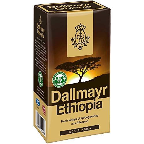 Dallmayr Kaffee Ethiopia 500g gemahlen - 6er Pack (6x 500g)