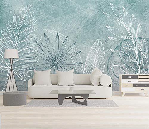 Fondo de pantalla de hojas tropicales mural tv fondo pared 400×280cm