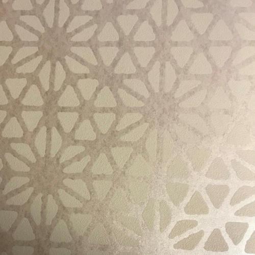 A-Street Prints Billie geometrisch behang, Taupe, 20,5-inch x 33 ft