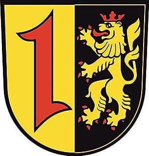U24 Aufkleber Mannheim Wappen Autoaufkleber Sticker Kontursc