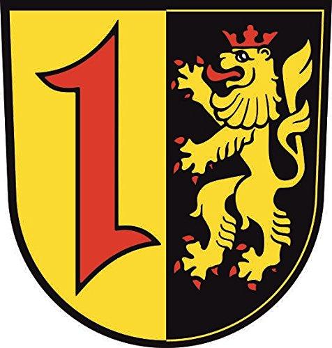 U24 Aufkleber Mannheim Wappen Autoaufkleber Sticker Konturschnitt