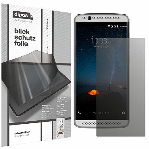 dipos I Blickschutzfolie matt kompatibel mit ZTE Axon 7 Mini Sichtschutz-Folie Bildschirm-Schutzfolie Privacy-Filter