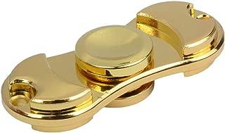 HY-MS Hand Spinner ハンドスピナー 超耐久性 高速回転 4〜6分平均スピン (ゴールド)