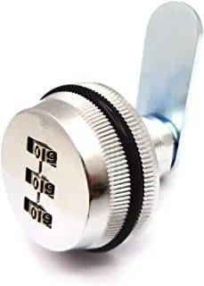 3-Digit Combination Mailbox Lock 7/8