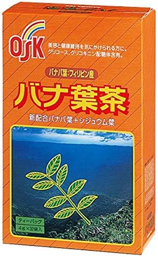小谷穀粉 OSK バナ葉茶 4g×32袋