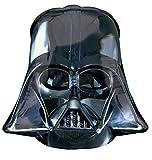 amscan 10107568 Star Wars Darth Vader Casco de papel de aluminio globo - 1 pieza