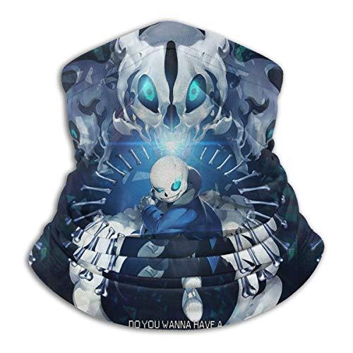 Undertale Sans Neck Warmer Gaiter For Men Women Headband Face Mask Bandana Head Wrap Scarf Headwear Winter Balaclava For Ski Running Motorcycle