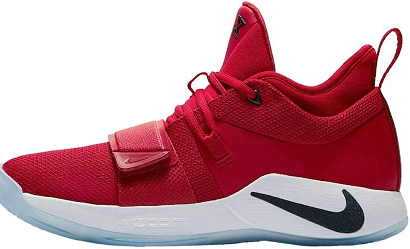 Nike Pg 2.5, Chaussures de Basketball Homme, MultiCouleure (Gym rouge Dark Obsidian blanc 600), 47.5 EU
