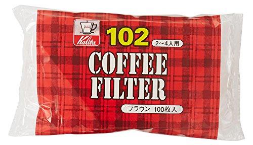 カリタ 102 濾紙 ブラウン 1袋 [1250]