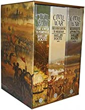 Civil War a Narrative; 3 Volumes: Fort Sumter to Perryville; Fredericksburg to Meridian; Red River to Appomattox