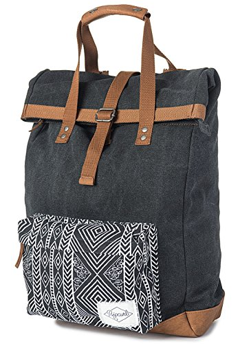 RIP CURL Mujer Fresno Backpack Funda, Color Gris Oscuro, tamaño 32 x 18 x 44 cm