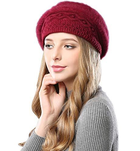 Alleza Boinas Francesa Sombreros Mujer Lana