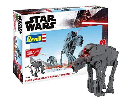 Revell Build & Play 6772 First Order Heavy Assault Walker, 1:164 Star Wars Zubehör, Mehrfarbig