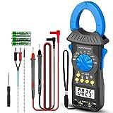 Digital de Pinza Multímetro HP-6205 Pinza Amperimétrica Rango Automático 6000 Cuentas Medidor de Pinza TRMS para...