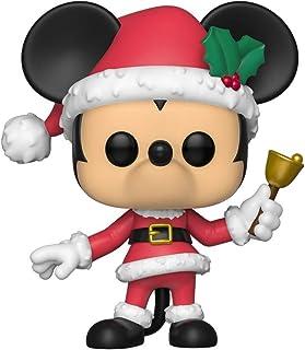 Funko Pop Figura De Vinil Disney: Holiday-Mickey Coleccionable, Multicolor, Estándar (43327)