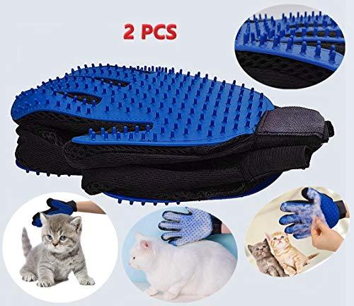 Doppelseitig Möbel Haar Entferner Mitt zum Pet Hund Katze - Fell Werkzeug für Lange & Kurze Pelz -Haustier Bürsten Handschuh