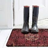 deco-mat Fußmatte Orient (40 x 60 cm, Grün) • rutschfeste und waschbare Fußmatte für außen/innen • saugstarke Schmutzfangmatte für Innen-/Außenbereich in orientalischem Design - 6