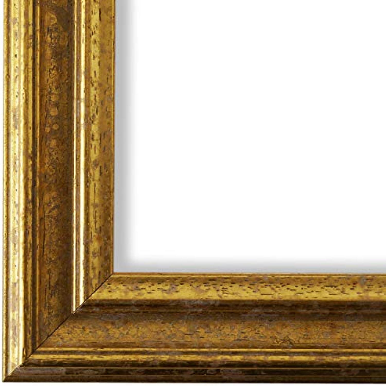 Online Galerie BinGold Bilderrahmen Gold 90x100-90 x 100 cm - Antik, Barock, Vintage - Alle Gren - handgefertigt in Deutschland - LR - Forli 3,7