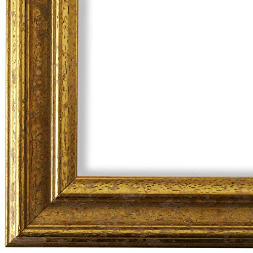 Online Galerie Bingold Bilderrahmen Gold 50x70-50 x 70 cm - Antik, Barock, Vintage - Alle Größen - handgefertigt - WRF - Forli 3,7