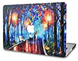 KECC Laptop Case for MacBook Air 13 Inch Plastic Case Hard Shell Cover A1466/A1369 (Rainy Night)