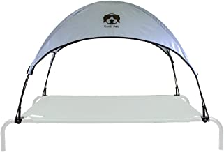 Everything Summer Camp Dog Bed Canopy with Adapter - Fits Large Size Coolaroo and Amazon Basics Pet Beds (Bed Sold Separately)