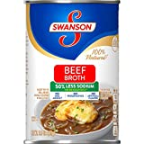 Swanson50% Less Sodium Beef Broth, 14.5 oz. Can