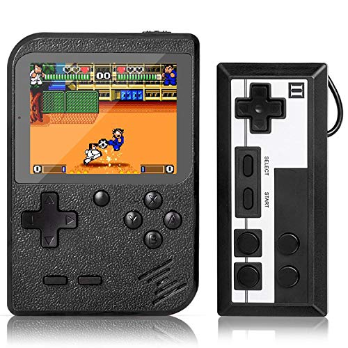 Handheld Game Console, Retro Mini Game Player with 500 Classic FC Games, 3.0 Inch Screen 800mAh...
