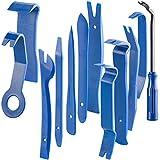 AGT Demontage Werkzeug: 12-teiliges Zierleistenkeile-Set für Auto, Möbel und Renovierung (Auto Werkzeug)