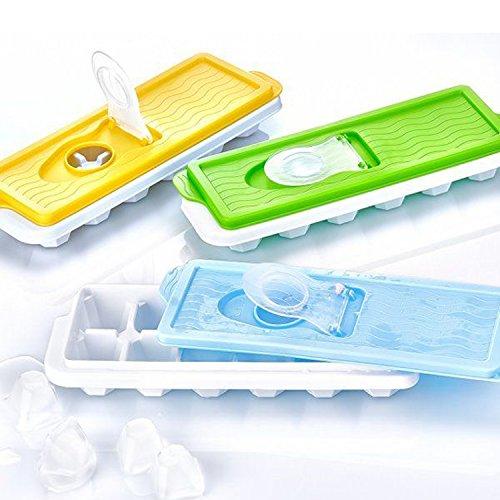 Demirel Plastik - Stampo per cubetti di ghiaccio, con coperchio