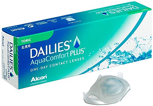 Dailies AquaComfort Plus Toric Tageslinsen, 30 Stück, BC 8.8 mm, DIA 14.4 mm, CYL -1.25, ACHSE 90, -1.25 Dioptrien