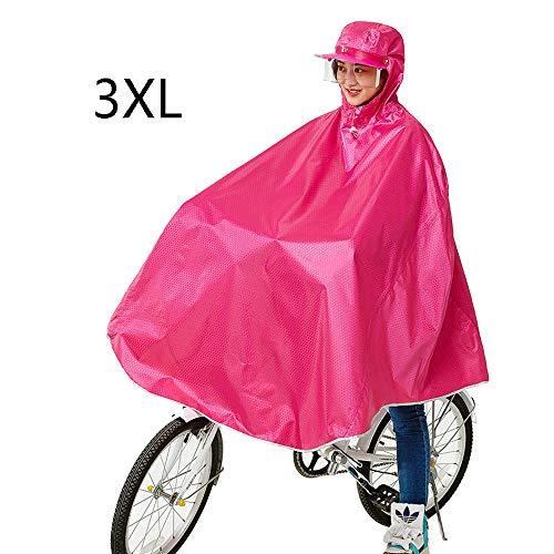 Aumentar La Motocicleta Eléctrica Impermeables del Impermeable Y Transpirable Individual Femenino Señoras...