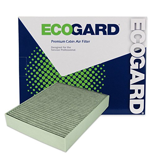 ECOGARD XC10010C Premium Cabin Air Filter with Activated Carbon Odor Eliminator Fits BMW 328i 2012-2016, 328i xDrive 2014-2016, 320i 2013-2018, 320i xDrive 2013-2018, 428i 2014-2016
