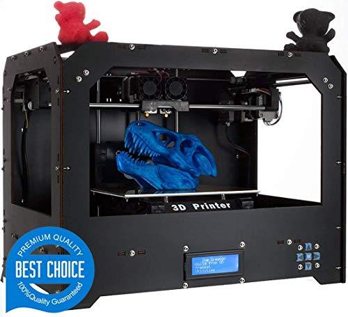 Stampanti 3D, Abcs Printing Bizer Stampante 3D Desktop doppio estrusore, Mk8, Fabbrica diretta di prezzo più basso, con filamento ABS o PLA