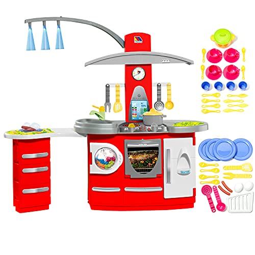 Cocina Infantil Molto Electronic Deluxe + Set Acc. Cocina