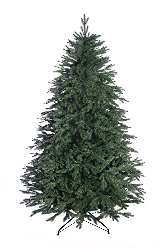 DWA CHRISTMAS TREE New Boxed Traditional Forest Green TREE (Alpine Spruce, 220 cm)