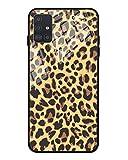 FundX Hülle für Samsung Galaxy A51 - Leopardenmuster Leopard Muster mit Kameraschutz Schutzhülle Damen - Handyhülle