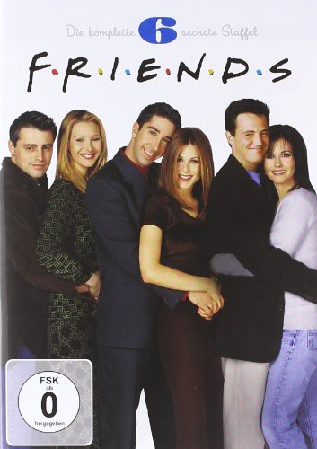 Friends - Staffel 6 Box Set (4 DVDs)