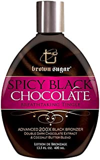 Brown Sugar SPICY BLACK CHOCOLATE Tingle Bronzer - 13.5 oz. by Brown Sugar